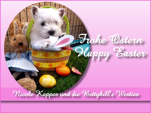 Frohe Ostern :: Bettyhill's Westies